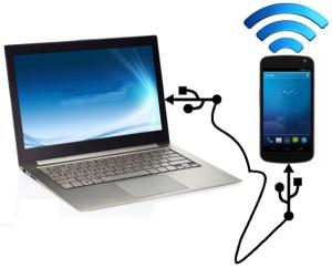 Connect-PC-Internet-to-Android-Mobile-Phone-Via-USB-Cable-Without-Rooting