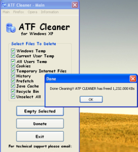 ATF Cleaner Free Download For Windows 7, 8.1 | Free PC Cleaner