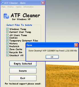 atf cleaner download for windows xp