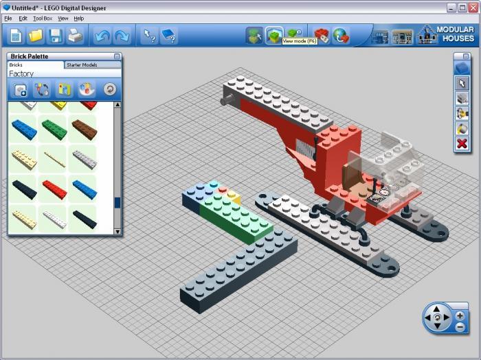 Lego Digital Designer Virtual Model Software Free Download