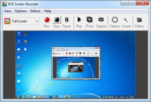 BSR Screen Recorder Free Download for windows