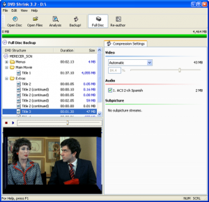 DVD Shrink Free Download for windows