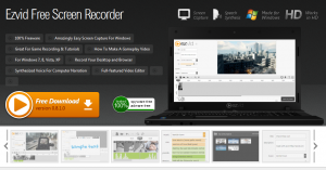 Ezvid Screen Recorder Free Download for windows