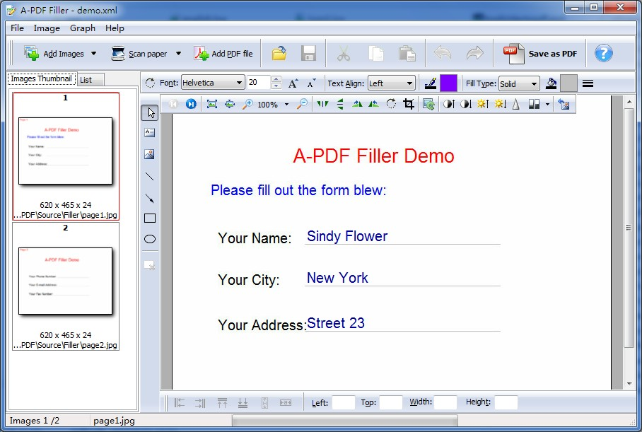 pdffiller free Top 5 PDF Editor Softwares Free Download For Windows 7, 8.1