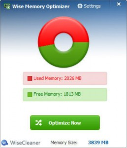 Wise Memory Optimizer Softwares Free Download For Windows