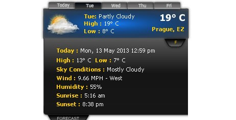 X-Treme Weather Widget Download