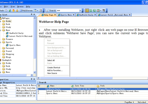 web saver offline browser download