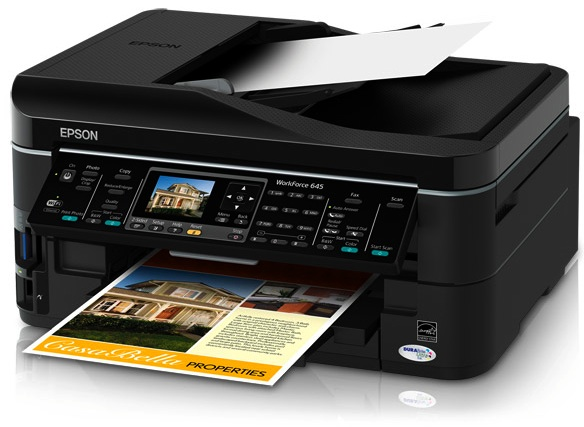 Epson Workforce 545 All In One Printer Driver Download