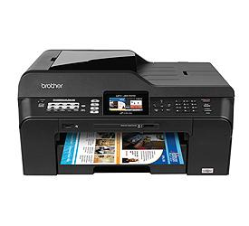 Brother MFC-J6510DW Color Inkjet Printer Drivers Download