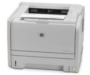 HP Laserjet P2035 driver impresora. Descargar software gratis
