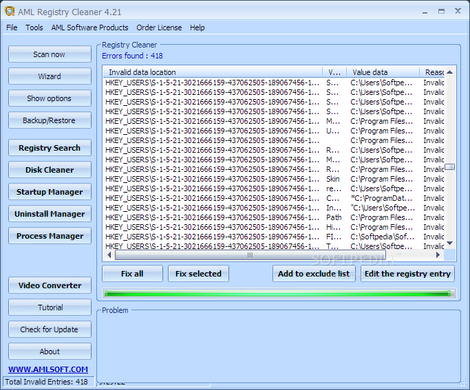 Aml registry cleaner free download for windows 7 81 for Küchenplaner software freeware download