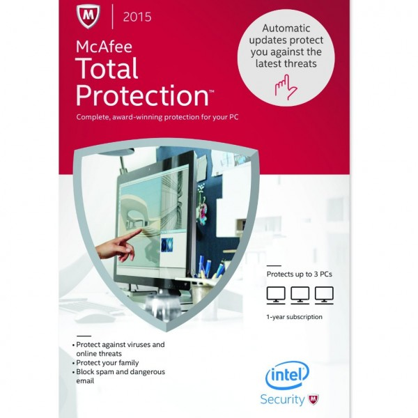 McAfee Total Protection 2015 Download Free For Windows and Mac