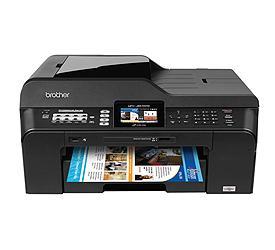 Brother MFC-J6510DW Color Inkjet Printer Drivers Download